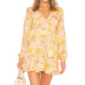 tularosa wrap dress